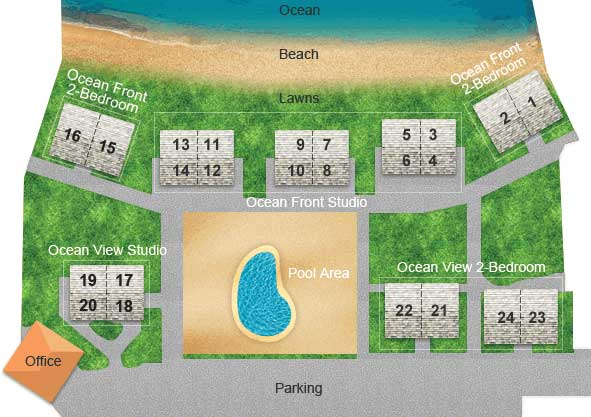 Kapaa Sands Layout